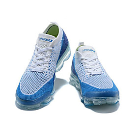 cheap Men's Athletic Shoes-Men's Comfort Shoes Elastic Fabric Spring &  Fall / Spring / Summer Sporty / Casual Athletic Shoes Running Shoes / Fitness & Cross Training Shoes / Walking Shoes Breathable Black / White / Blue NIKE