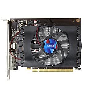 billige Grafikkort-YESTON Video Graphics Card GT1030 1468 MHz 6008 MHz 2 GB / 64 bit GDDR5