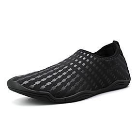 baratos Sapatos Esportivos Masculinos-Homens Sapatos Confortáveis Tecido elástico Verão / Primavera Verão Esportivo Tênis Água / Tênis Anfíbio Respirável Branco e Preto / Vermelho / Azul Real