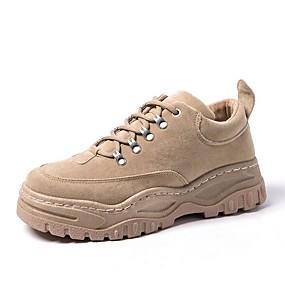 baratos Sapatos Esportivos Masculinos-Homens Sapatos Confortáveis Sintéticos Primavera Tênis Caminhada Preto / Cinzento / Khaki