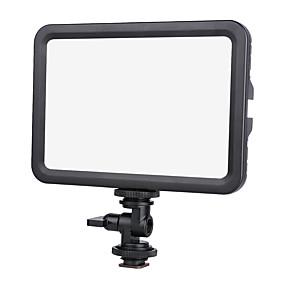 رخيصةأون إكسسوارات إضاءة الكاميرا والاستوديو-ضوء الفيديو سبائك الألومنيوم والمغنيسيوم تعمل بطارية / DC 12V / موصل الطاقة 7.4-12 V