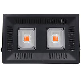 abordables Lampe de croissance LED-1pc 100 W 4000-4500 lm 2 Perles LED Spectre complet Luminaire croissant Rouge RGB + Blanc 110 V