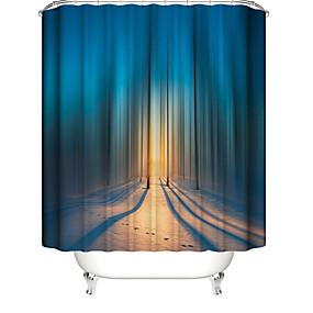 hesapli Duş Perdeleri-Shower Curtains & Hooks Çağdaş Plastikler / Polyester Su Geçirmez / Yaratıcı