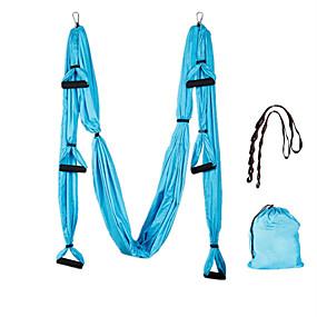 voordelige Pilates-Hangmat Weerstandsbanden 1 cm Diameter Gemengd Materiaal Ultrasterke anti-zwaartekracht Training Pilates Voor Unisex Gym