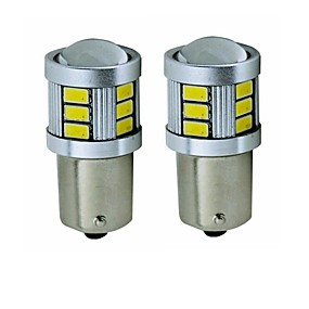 abordables 70%OFF-SENCART 2pcs BA15S (1156) / BAY15D(1159) Motocicleta / Coche Bombillas 5 W SMD 5630 450 lm 18 LED Luz de Intermitente / Luz de la cola / Luces de freno Para Universal