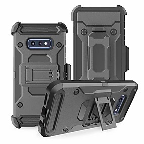 ราคาถูก โทรศัพท์ & อุปกรณ์เสริม-Case สำหรับ Samsung Galaxy Galaxy S10 / Galaxy S10 Plus Shockproof ปกหลัง เกราะ Hard TPU / พีซี สำหรับ S9 / S9 Plus / S8 Plus