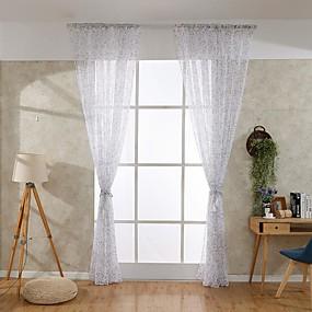 povoljno Poboljšanje uvjeta stanovanja-Suvremena Jedna ploča Prozračan Spavaća soba   Curtains