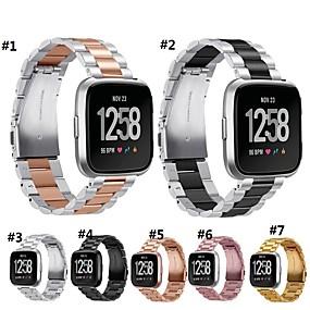 billige Smartwatch Bands-Klokkerem til Fitbit Versa Fitbit Moderne spenne Metall Håndleddsrem
