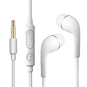 abordables Écouteurs intra-auriculaires câblés-litbest s4 dans l'oreille filaire casque écouteur toyokalon cheveux mobile téléphone écouteur stéréo / casque confortable