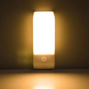 """Недорогие """"Умный"""" свет-Пир инфракрасный датчик движения USB аккумуляторная 12 светодиодный ночник индукции света коридор шкаф гардероб ночник светодиодный USB"""