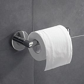 billige Toalettrullholdere-Toalettrullholder Nytt Design / Kreativ Moderne Metall 1pc - Baderom Vægmonteret