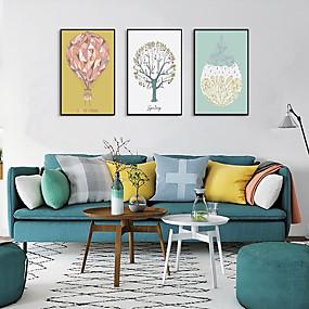 cheap Trending-Framed Art Print Framed Set - Floral / Botanical PS Illustration Wall Art