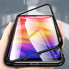 hesapli Cep Telefonu Kılıfları-Pouzdro Uyumluluk Huawei Huawei Honor 8X / Huawei Honor 8X Max Şeffaf Tam Kaplama Kılıf Solid Sert Metal