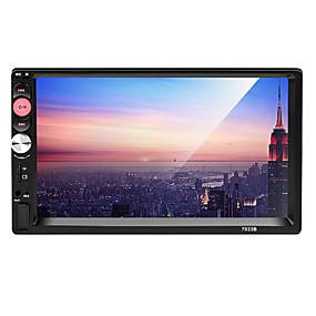 hesapli 50%OFF-7 inç Araba MP5 Çalar Dokunmatik Ekran için Uniwersalny Destek MPEG / AVI / MOV MP3 / WMA / WAV JPG