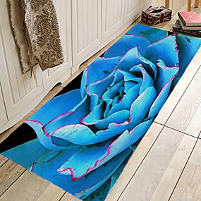 preiswerte Läufer und Teppiche-1pc Landhaus Stil / Modern Badvorleger Korallen-Velvet Blumenmuster 5mm bezaubernd / Einfach zu säubern