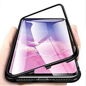 billige Telefoner og tilbehør-Etui Til Samsung Galaxy S9 / S9 Plus / S8 Plus Støtsikker / Ultratynn / Gjennomsiktig Heldekkende etui Ensfarget Hard Herdet glass