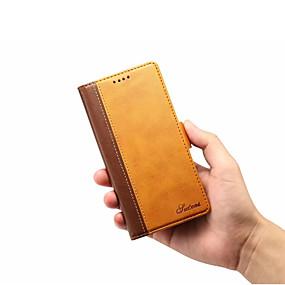 billige iPhone-etuier-tilfældet til Apple iPhone xr iphone xs max flip wallet kortholder fuld krop tilfælde solid farvet hårdt pu læder til iphone 6 iphone 6 plus iphone 7/8 iphone7 / 8 plus iphone xs