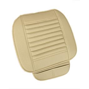 povoljno 10%OFF-prozračna PU koža bambus ugljen auto unutrašnjost sjedala pokriti jastuk jastuk za auto potrošni materijal uredske stolice