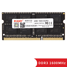 cheap Computer Components-BORY RAM 4GB DDR3 1600MHz Notebook / Laptop Memory laptop RAM