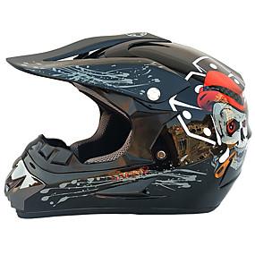 billige Nyankomne i august-mote menn høy styrke utendørs off road motorsykkel moto skitt motorsykkel hjelm sett