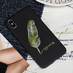 billige iPhone-etuier-Etui til Apple iPhone XS iPhone XS Max Telefon Taske TPU Materiale Malet Mønster Telefon Etui til iPhone xr x 7 plus 8 plus 7 8 6 plus 6s plus 6 6s 5 5s se
