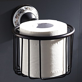 cheap Toilet Paper Holders-Toilet Paper Holder New Design / Cool Contemporary Brass 1pc Wall Mounted