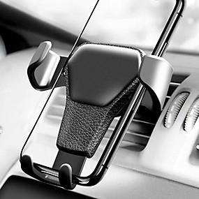 levne 50%OFF-gravitace auto vzduch větrání montáž kolébka držák stojan pro iPhone mobilní mobilní telefon gps