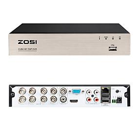 Недорогие Цифровые видеорегистраторы и DVR карты-видеорегистратор ZOSI 8CH 720P DVR для мобильных устройств удаленного мониторинга 8-канального смартфона DVR&Легкий удаленный доступ к компьютеру 4 в 1 многофункциональный цифровой видеомагнитофон