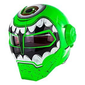 abordables Nouvelles arrivées en août-ironman soman face ouverte casques de moto casco cyclage capacetes sm515