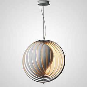 billige Hengelamper-jordkloss montert lys lys omgivende lysmalt finish justerbar metall, kreativ 110-120v / 220-240v
