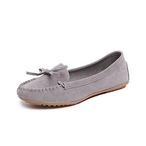 voordelige Damesschoenen met platte hak-Dames Platte schoenen Platte hak Synthetisch Lente & Herfst Zwart / Geel / Bordeaux