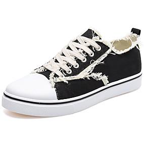 baratos Tênis Masculino-Homens Sapatos Confortáveis Camurça Verão Casual Tênis Use prova Branco / Preto / Amarelo