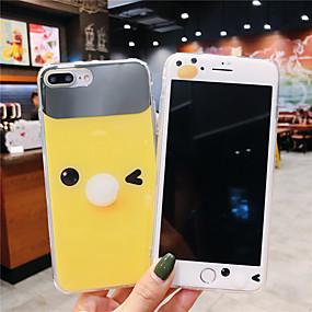 billige iPhone-etuier-taske til Apple iPhone xr / iphone xs maks mønster / spejl bagcover tegneserie soft tpu til iphone x xs 8 8plus 7 7plus 6 6plus 6s 6splus