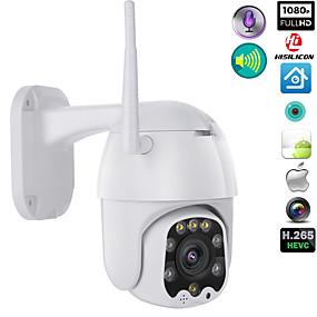 Недорогие IP-камеры для улицы-wi-fi камера наружного ptz ip-камера h.265x 1080p скоростная купольная камера видеонаблюдения ip-камера wi-fi экстерьер 2-мегапиксельная камера наблюдения