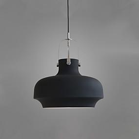 billige Hengelamper-Drum Anheng Lys Nedlys Malte Finishes Metall Nytt Design 110-120V / 220-240V