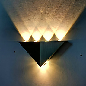 cheap Super Sales-New Design Modern Contemporary Outdoor Wall Lights Indoor / Garage Metal Wall Light IP65 Generic 1 W