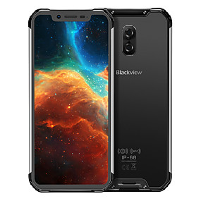 "billige Blackview-Blackview BV9600 6.21 tommers "" 4G smarttelefon ( 4GB + 64GB 8 mp / 16 mp MediaTek MT6771t 5580 mAh mAh )"