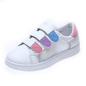 voordelige Damessneakers-Dames Sneakers Platte hak Ronde Teen PU Zomer Lichtblauw / Licht Paars / Roze