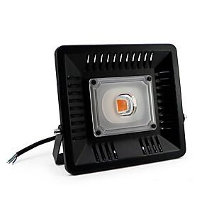 abordables Lampe de croissance LED-1pc 50 W 4000 lm 1 Perles LED Spectre complet Pour Greenhouse Hydroponic Luminaire croissant 85-265 V Serre de légumes