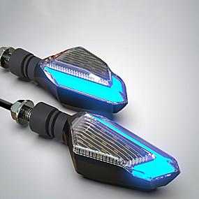 billige Nyankomne i august-motorsykkel blinklys førte lamper varsellys styring daglykter modellerl16