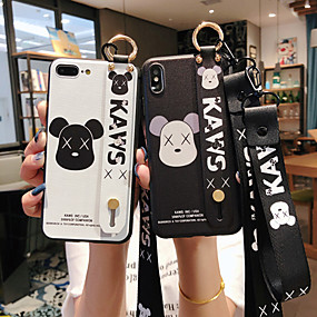 cheap Cool & Fashion Cases for iPhone-Case For Apple iPhone XS / iPhone XR / iPhone XS Max Dustproof / with Stand / Pattern Back Cover Word / Phrase / Cartoon TPU