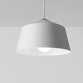 billige Hengelamper-pendellampe moderne enkel hengende lys jern rund skygge ledning justerbart taklys for spisesalen gangen