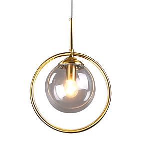 abordables Plafonniers-HEDUO Spoutnik Lampe suspendue Lumière dirigée vers le bas Finitions Peintes Verre Verre Montage du flux 110-120V / 220-240V