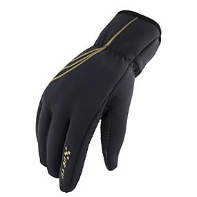 abordables Nouvelles arrivées en septembre-moto gants imperméables sports de plein air vélo anti-dérapant garder au chaud écran tactile gants de cyclisme