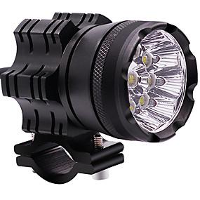 abordables Nouvelles arrivées en septembre-2pcs / set led moto phare brouillard spot projecteur phare