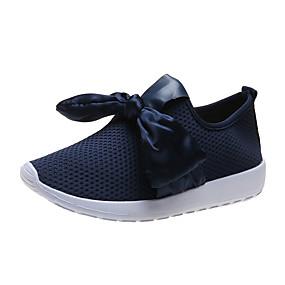 baratos Sapatos Esportivos Femininos-Mulheres Tênis Creepers Ponta Redonda Com Transparência Caminhada Primavera & Outono Preto / Azul / Rosa claro