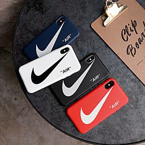 billige Telefoner og tilbehør-Etui Til Apple iPhone XS / iPhone XR / iPhone XS Max Støvtett / Inngravert Heldekkende etui Ord / setning Myk TPU