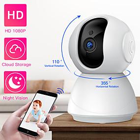 halpa IP-verkkokamerat sisäkäyttöön-sdeter 1080p 720p langaton turvakamera ip-kamera wifi cctv -valvonta yönäköinen vauvamonitori lemmikkikamera p2p-nokka