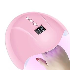 voordelige Nageldrogers & Lampen-36w slimme sensor nagel droger led / uv lamp met timer lcd-scherm nail art tools voor het genezen van nagellak auto-inductie
