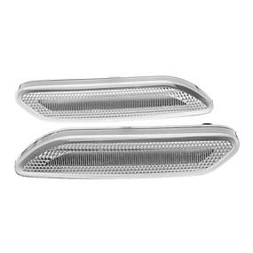 billige Nyankomne i oktober-2stk dynamiske ledede sidemarkeringslamper blinklysrepeaterlamper for mini r60 countryman r61 paceman